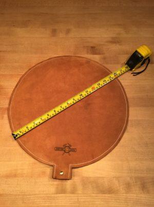 16″ Diameter Leather Shot Bag
